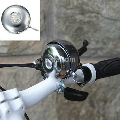 Black; F6T7 Bike Bicycle Bar Strape type Bell Ding Ring