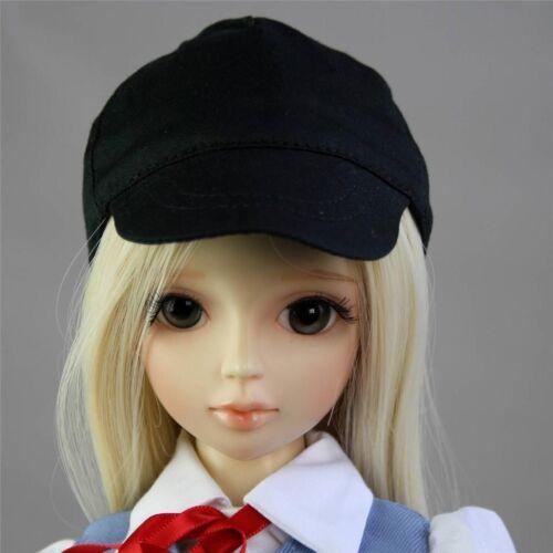 PF Hat Clothes 1//4 MSD DZ LUTS BJD Doll 21# Black Baseball Casual Hat