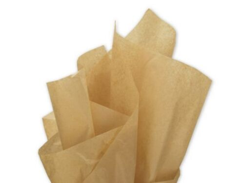"18gsm  20/"" x 30/"" Acid Free NATURAL BEIGE Tissue Paper Sheets 50cm x 75cm"