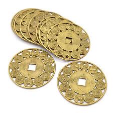 10x Feng Shui Chinesisch 12 Tierzeichen Münzen Reichtum Glückbringer Zufällig