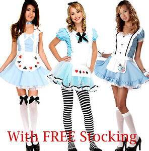 Alice-in-Wonderland-Fancy-Dress-Fairytale-Costume-Outfit-Many-Styles-Many-Sizes