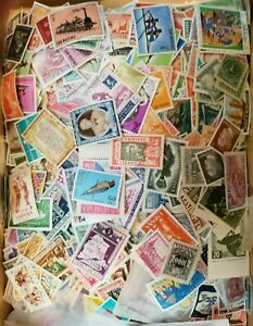 100-Different-Worldwide-Foreign-MINT-Stamps-MNH-MH-PRE-1975