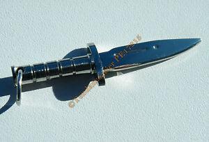 Pendentif-Pur-Acier-Inoxydable-Arme-Couteau-Sabre-Poignard-Chasse-Dague-65-mm