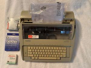 Brother GX6750 Typewriter W/original Box. Works.