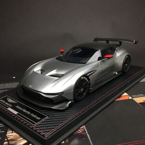New 1 18 Frontiart Avanstyle Aston Martin Vulcan Resin Car Model Pearl Silver Ebay