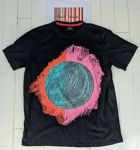 Paul Smith Graphic T-Shirt Gr. L-sehr cool & Amazing Zustand & Qualität