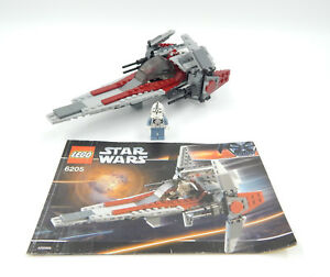 Lego Star Wars 6205 V-wing Fighter - Occasion