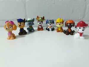 Paw patrol blind bag mini figures 8 pups set bundle cake topper robo dog tracker