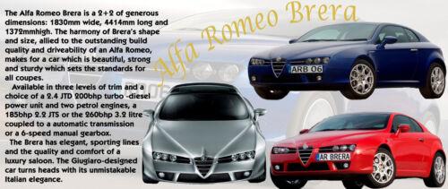 ALFA ROMEO BRERA 2006 CLASSIC CAR MUG LIMITED EDITION
