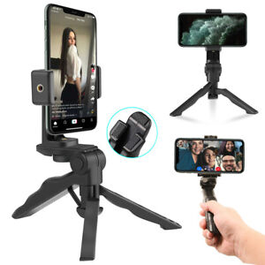 Adjustable Portable Desktop Phone Tripod Stand Holder For iPhone Samsung Phones