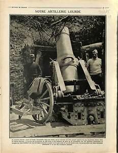 """Mortiers Artillerie Lourde Bataille d'Artois Ruines Village de Lorraine 1915 WWI - France - Commentaires du vendeur : """"OCCASION"""" - France"""