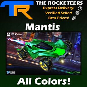Details About Ps4 Psn Rocket League Every Painted Mantis Import Car Nitro Crate White