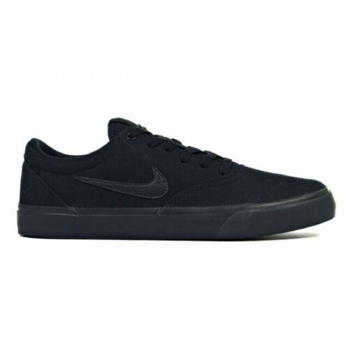 Size 14 - Nike SB Charge Canvas Triple Black for sale online | eBay
