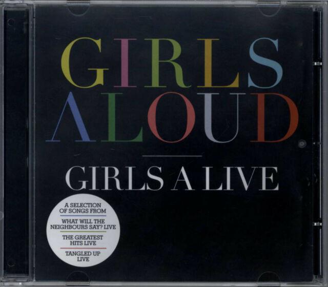 GIRLS ALOUD - GIRLS A LIVE 2008 EU CD CHERYL COLE SARAH HARDING KIMBERLEY WALSH