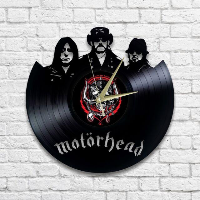 MOTORHEAD vinyl wall clock