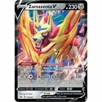Zamazenta V 139//202 Ultra Rare
