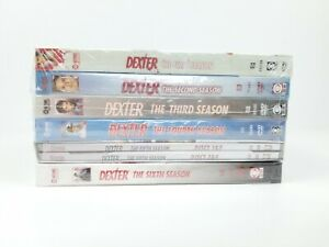 NEW-DEXTER-TV-Series-Seasons-1-6-in-sealed-packaging-never-opened-DVD