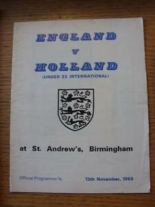 13111968 England U23 v Holland U23 At Birmingham City folded messy team ch - <span itemprop=availableAtOrFrom>Birmingham, United Kingdom</span> - Returns accepted within 30 days after the item is delivered, if goods not as described. Buyer assumes responibilty for return proof of postage and costs. Most purchases from business s - Birmingham, United Kingdom