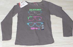 835-T-shirt-ML-8-ans-gris-fantaisie-ORCHESTRA-DAZZLING-neuf-avec-etiquettes