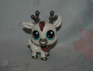 Lps Littlest Pet Shop 31 White Cariboudeer Glimmer Pet In The