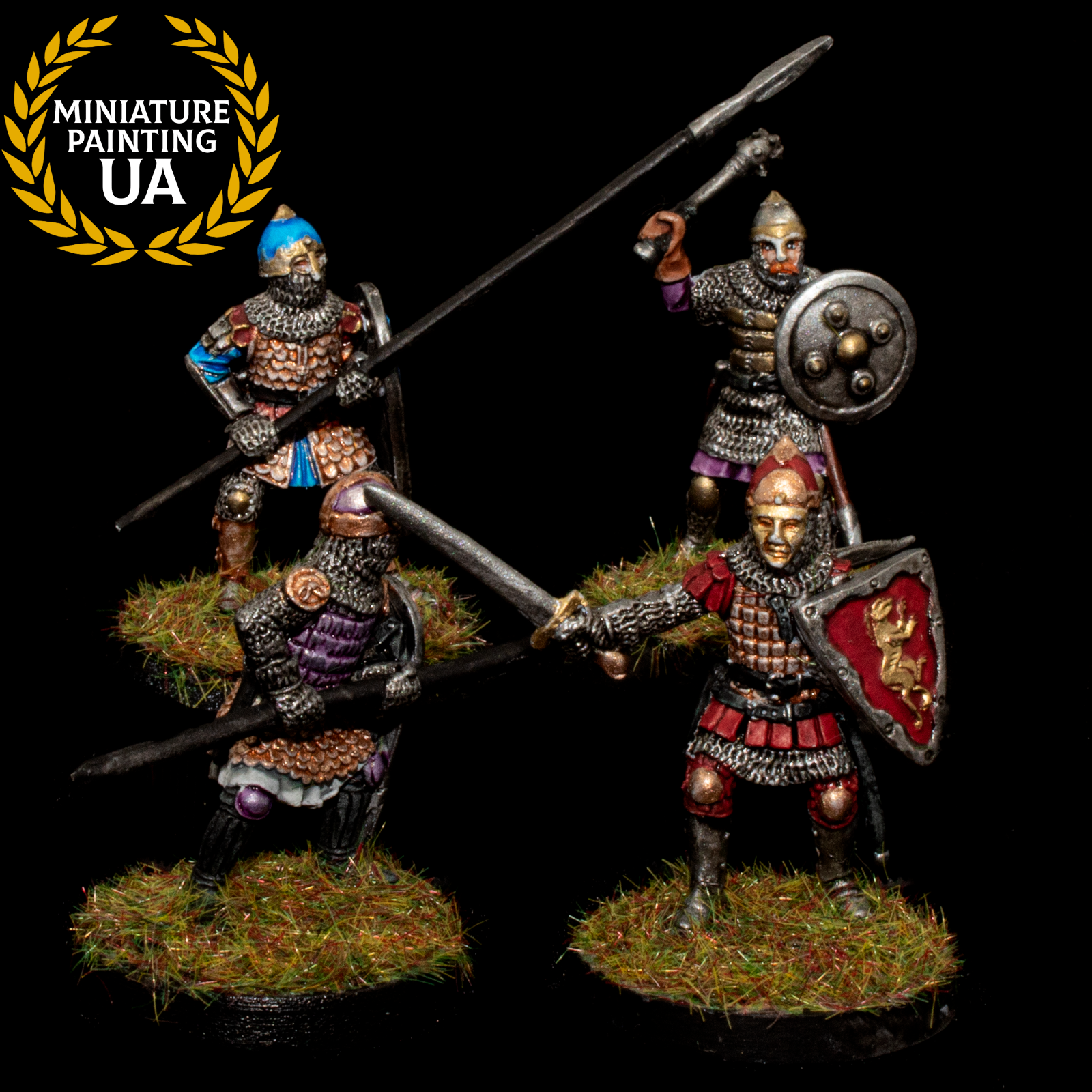 ⭐️SAGA Historical Wargame Painted Slavic warriors Pagan Rus Gripping Beast