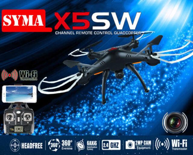 Syma X5SW/X5SW-1 Explorers-II FPV 2.4G RC Drone Quadcopter 2MP Wifi Camera RTF