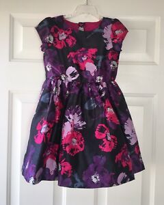 Purple Flower Girls Dress Gymboree