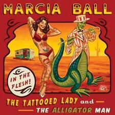Img del prodotto Tattooed Lady & The Alligator Man - Marcia Ball (2014, Cd Nuovo)