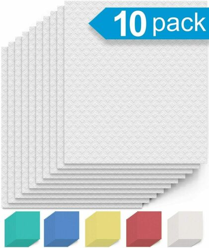 Swedish Dishcloths Cellulose Cloths 10PCS