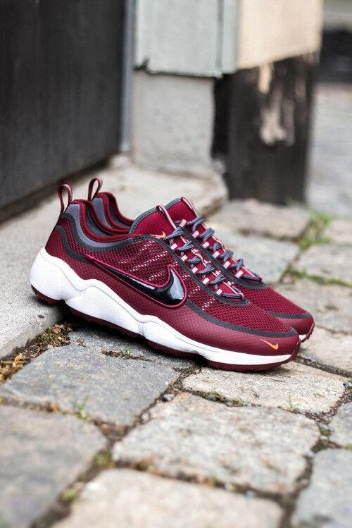 Nike Nike Nike Zoom Spiridon SPRDN CAVS Team Dark Red Maroon White Black Men sz 11.5 shoes 09379a