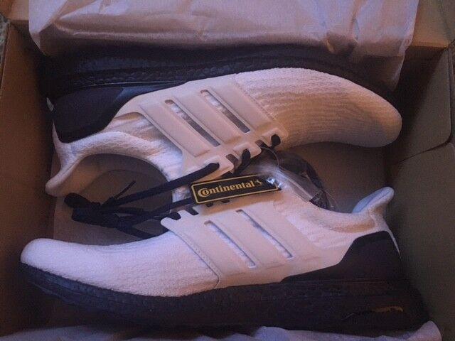 Mi Adidas noir Xéno-très et blanc Ultra Boost Xéno-très noir rare-taille UK13.5 - SOLD OUT e17bf1