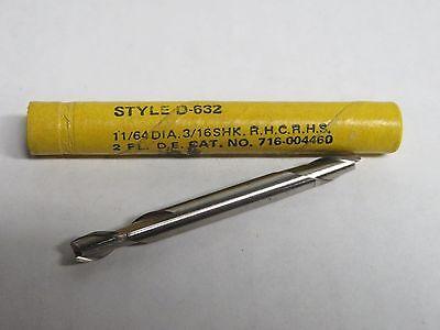 "DOALL GREENFIELD 3//16/"" Center-Cut 4-Flutes End Mill endmill USA"