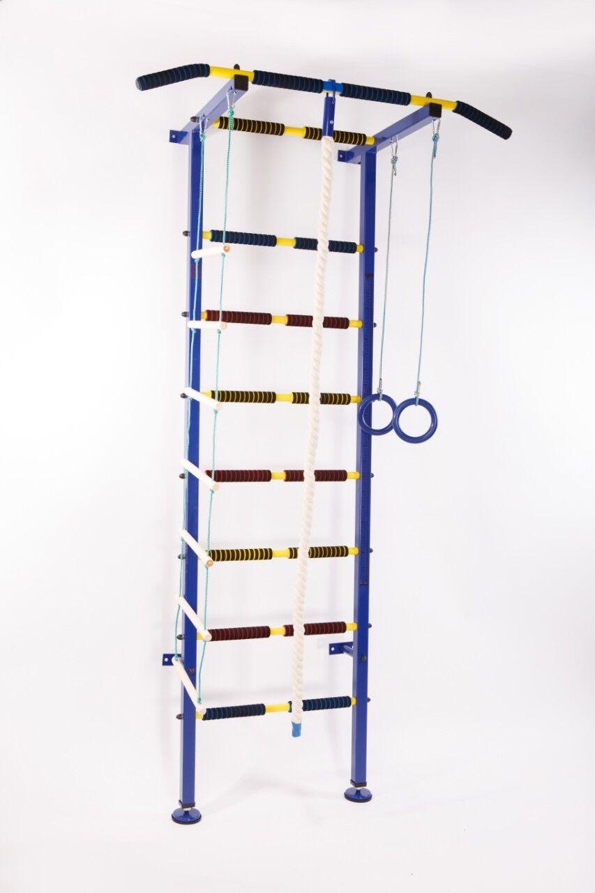 Kids Swedish Ladder Wall Bars Climbing Wall Gymnastic Pull Up Bar
