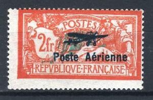 FRANCE-POSTE-AERIENNE-1-034-MERSON-2F-SALON-AVIATION-1927-034-NEUF-xx-TB-SIGNE-P649