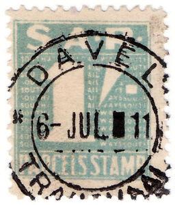 I-B-South-Africa-Railways-Parcels-Stamp-1-Davel