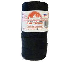 Catahoula No 18 Tarred Braided Nylon Bank Line 1 lb Spool 1100 ft Twine