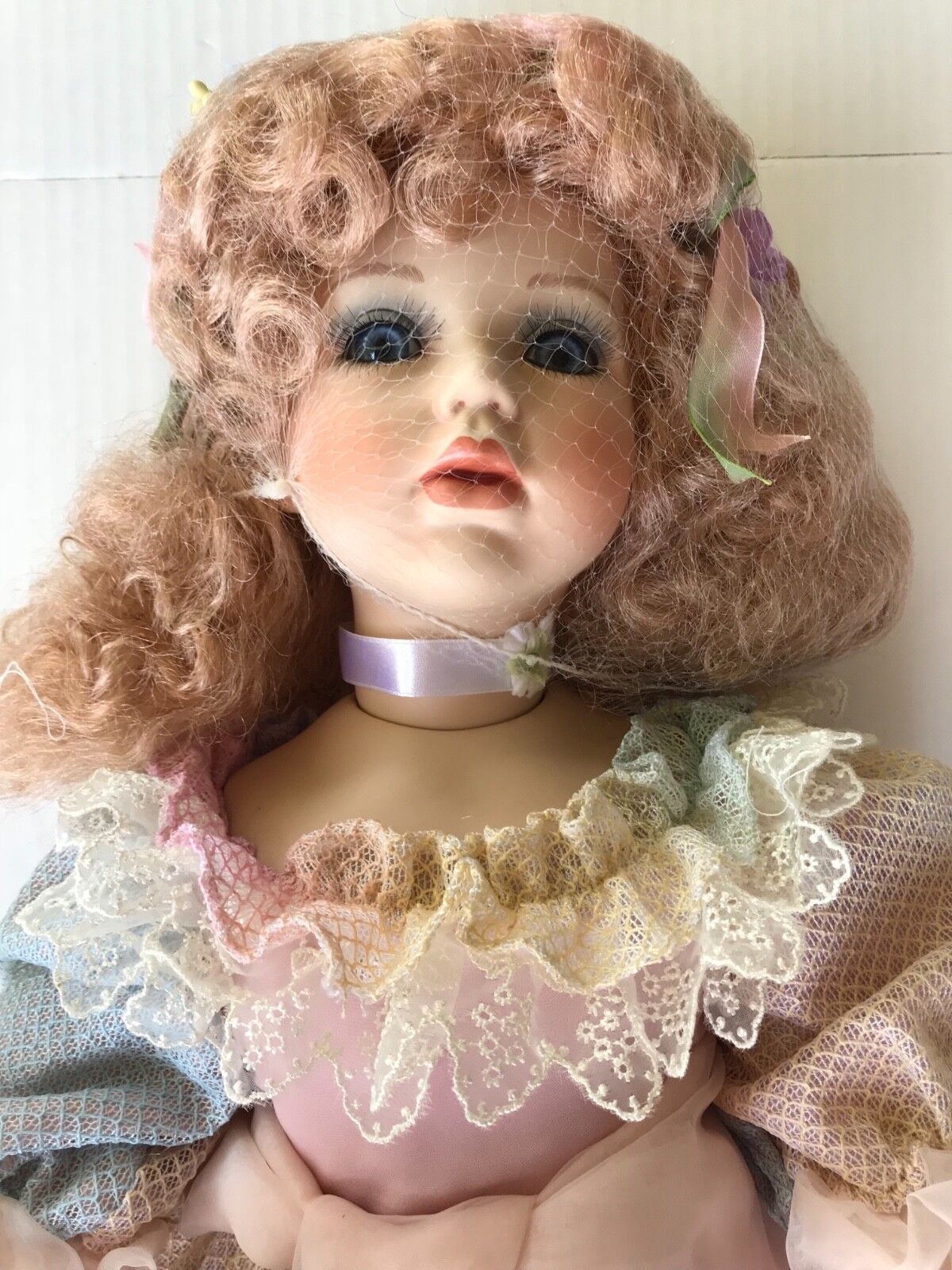 "RARE Porcelain bambola William Tung  Collection 28"" Paula Numberosso 112 750 Angel TUS  migliore marca"