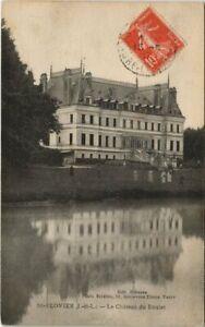 CPA St-FLOVIER - Le Chateau du roulet (146753)
