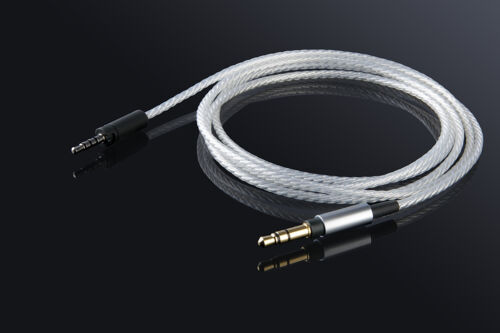 Replacement Upgrade Silver Audio Cable For Sennheiser MOMENTUM On-Ear