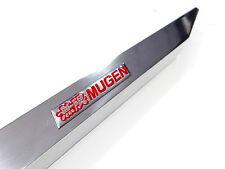 90-93 ACURA INTEGRA MIRROR POLISH REAR LOWER TIE BAR WITH RED JDM EMBLEM DA DB