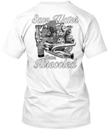 Drive Aircooled Back Save Water Standard Unisex T-shirt