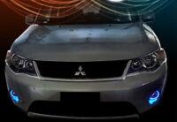 2007-2012 Mitsubishi Outlander Blue Angel Eye Halo Fog Lamps Driving Lights