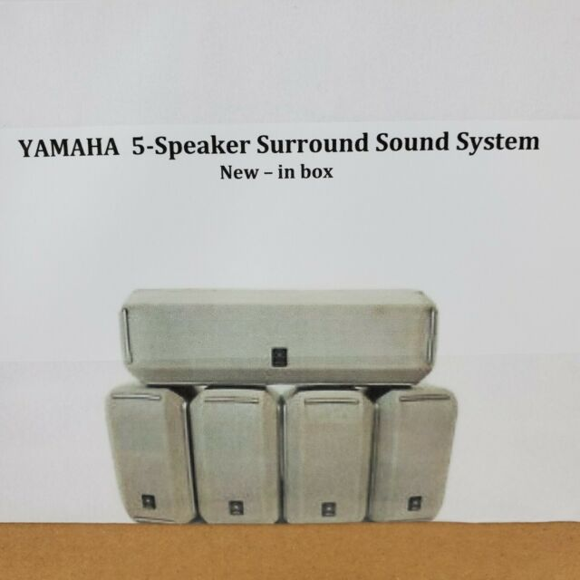 Set Of 5 Samsung Surround Sound Home Theater Speakers Model Ps Cc560s For Sale Online Ebay