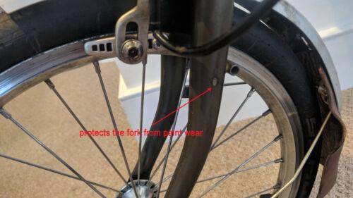Câble Fender Protector pour BROMPTON Noir Argent
