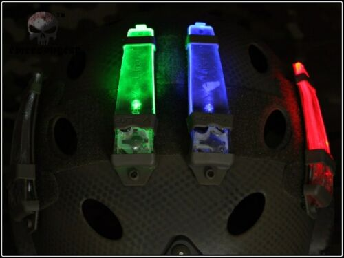 Airsoft milsim EMERSON VLite Distress Marker ligth  green red