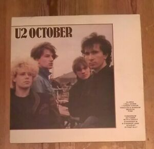 U2-October-Vinyl-LP-Album-33rpm-1981-Island-ILPS-9680