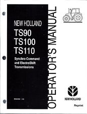 New Holland TS90, TS100, TS110  Tractor Operator's Manual