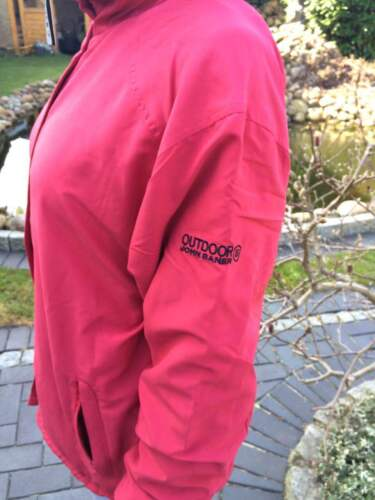 leichte Wende Übergangs Jacke Rot Blau  Damen Gr 36 38 S NEU 285