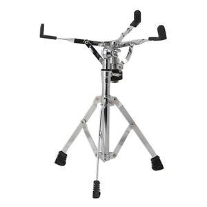 professional metal drum stand snare dumb rack holder percussion support silver ebay. Black Bedroom Furniture Sets. Home Design Ideas