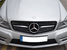 Mercedes W204 Clase C C180 C200 C220 C250 C350 Deporte Rejilla Parrilla diamante mirada